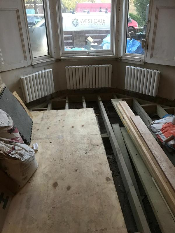 Image 4 - Renovation in progress - New rads fitted