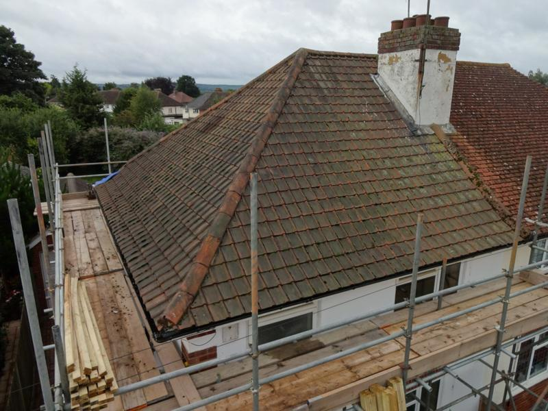 Image 7 - Existing Roof Before In Tonbridge