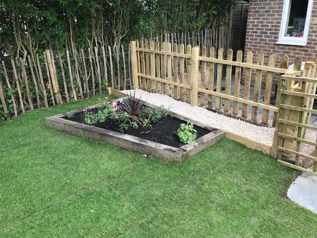 Image 51 - All left clean and tidy, A new garden !