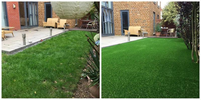 Image 175 - Garden resurfacing