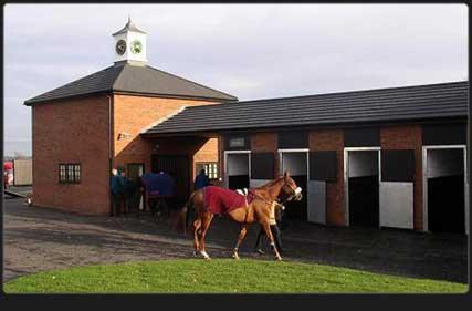 Image 1 - Decra roofing at Towcester Race Course Stables