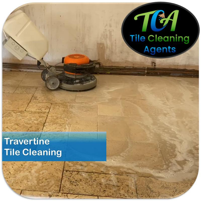 Image 14 - Travertine cleaning and restoration service