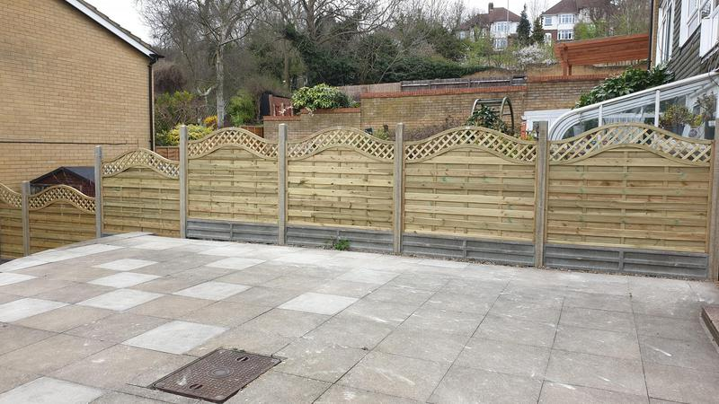Image 8 - Bow top panel fencing