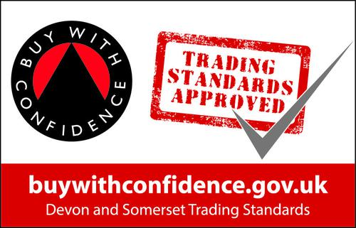 Buy With Confidence Devon & Somerset logo