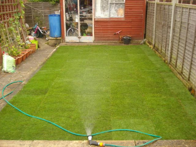 Image 41 - garden area after turfing