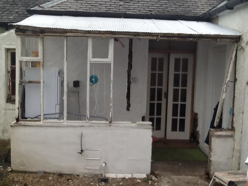 Image 53 - Lennon outhouse Before
