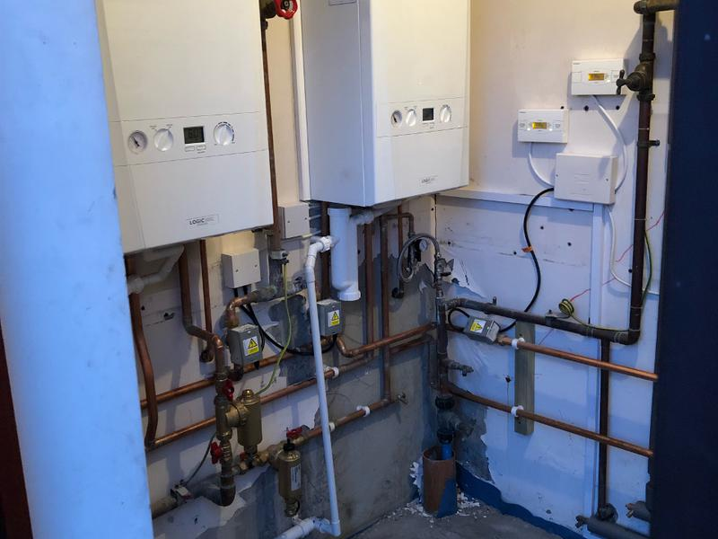 Image 16 - Two boilers replaced