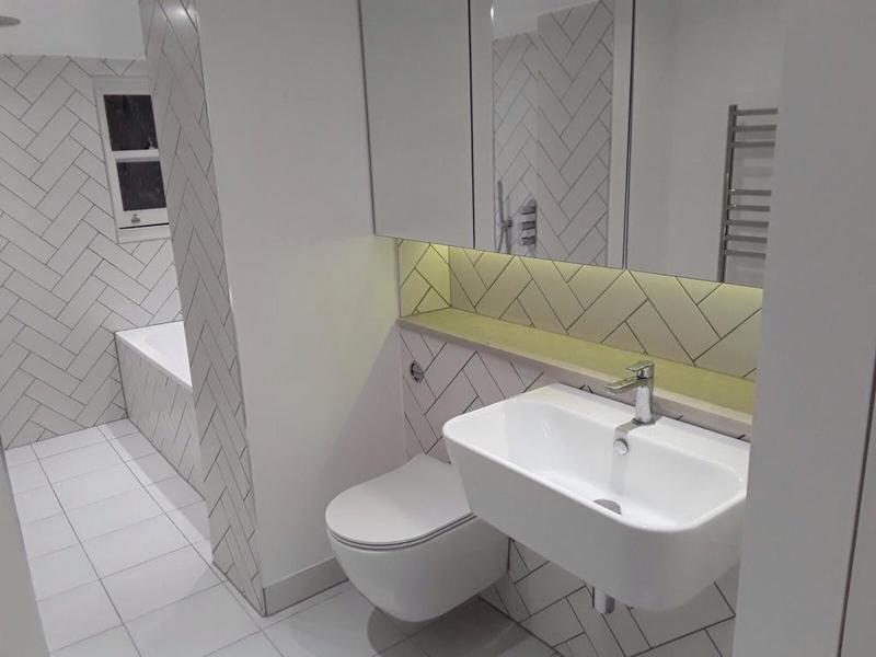 Image 50 - Toilet Kitchen Refurbishment