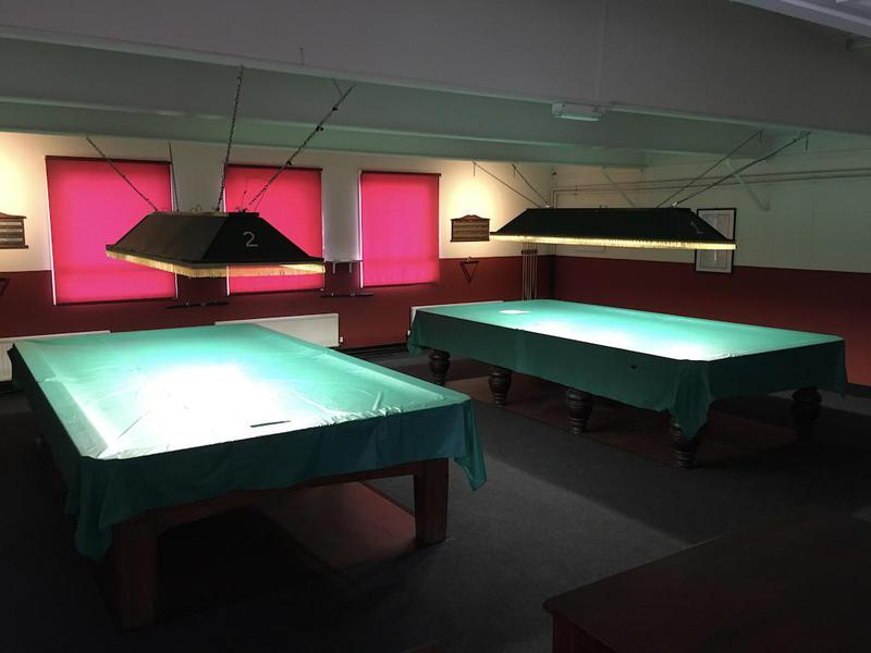 Image 21 - New carpet installed at this snooker room, old vinyl removed and floor latex installed flat for new carpets.