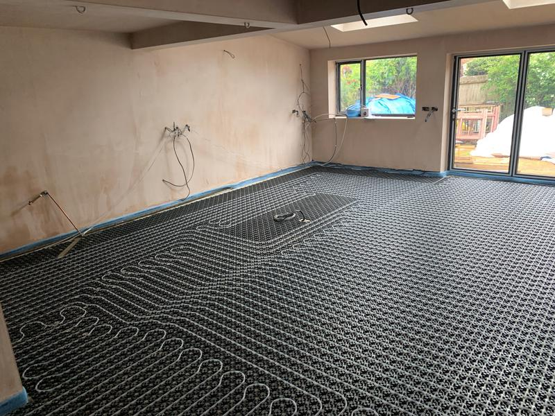Image 2 - Under Floor Heating Project