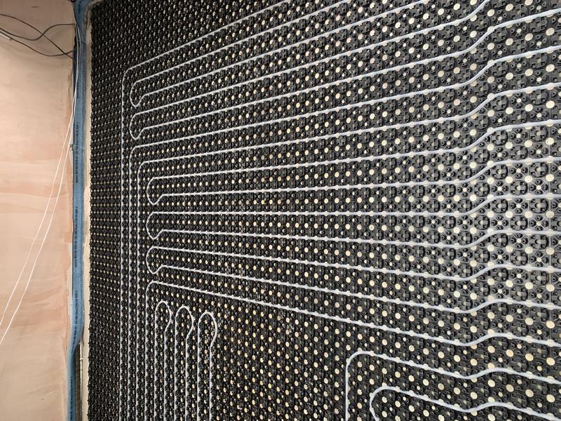 Image 3 - Under Floor Heating Project