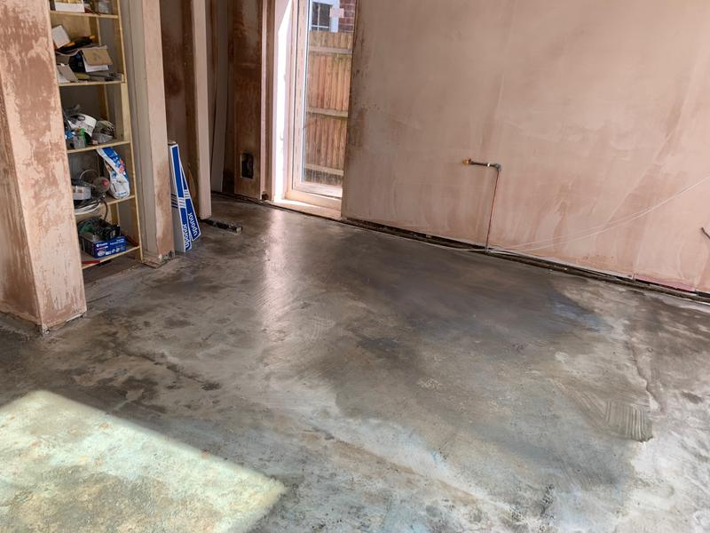 Image 5 - Under Floor Heating Project Completed