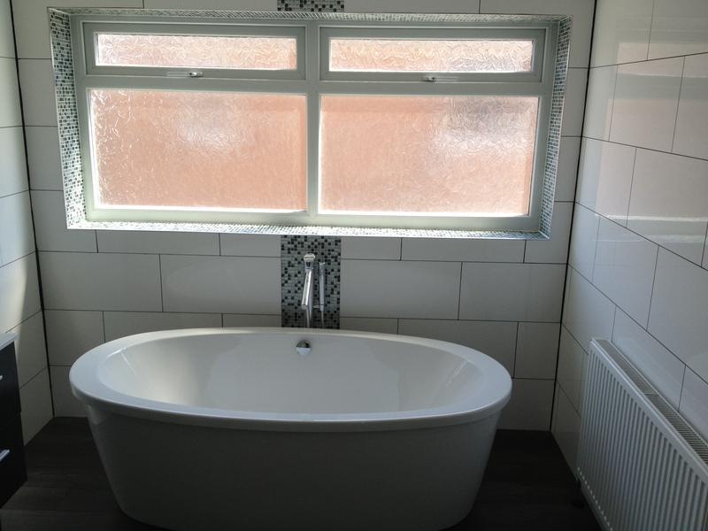Image 5 - Re-positioned the bath under the window, making it the ideal focus point