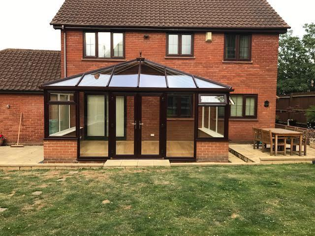 Image 101 - Rosewood conservatory replacement carried out
