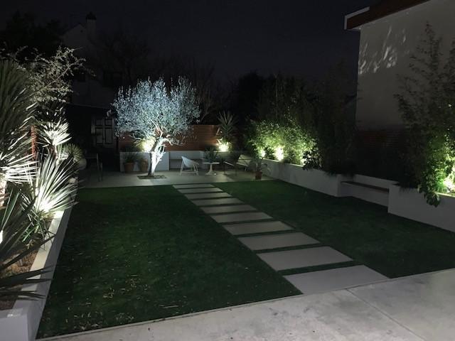 Image 7 - Garden LED spike lights.