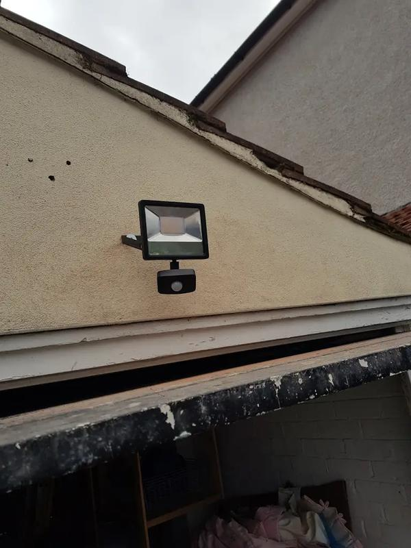 Image 12 - Flood light with sensor install in Bexley
