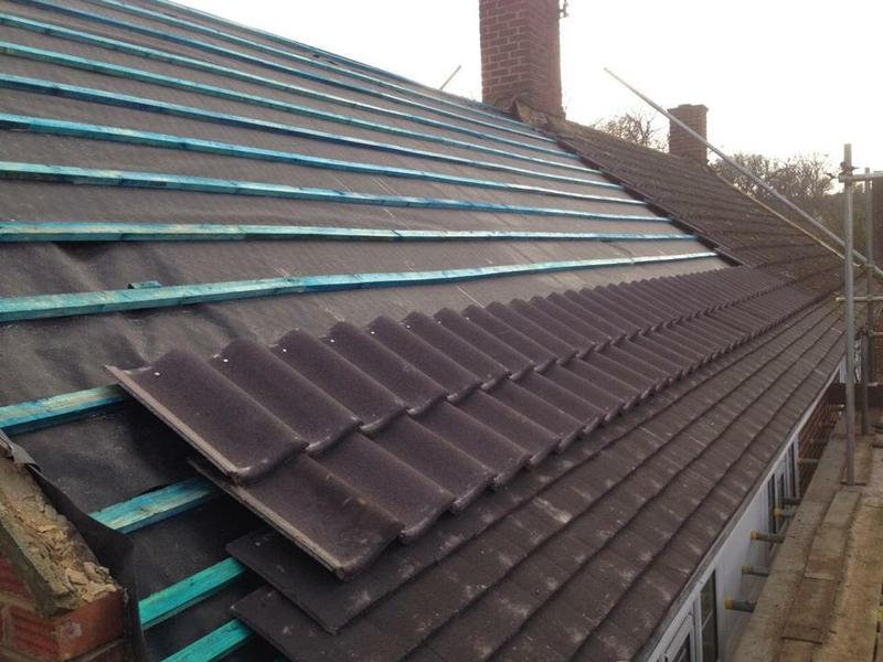 Image 13 - DOUBLE TILED ROOFING SYSTEMS KNAPHILL WOKING SURREY