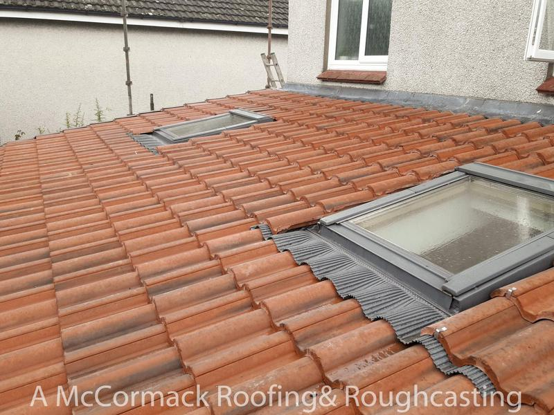 Image 2 - New Regent tiles and new Flashing Kit fitted to this Roof in Motherwell