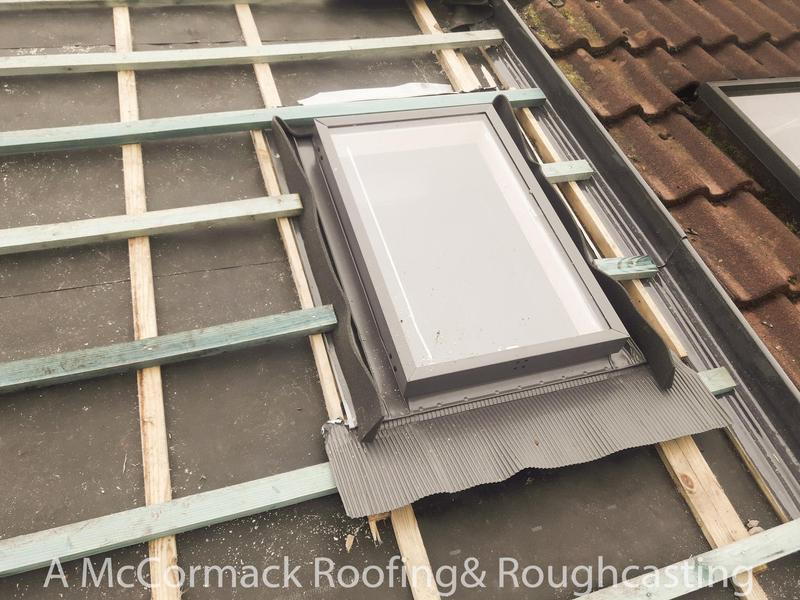 Image 6 - Re placement window in Bearsden roof