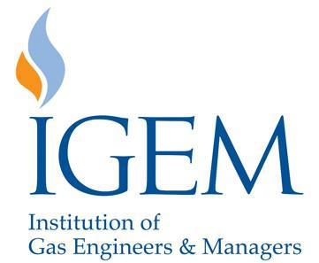 IGEM (Institution of Gas Engineers & Managers) logo