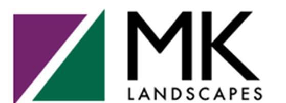 MK Landscapes logo