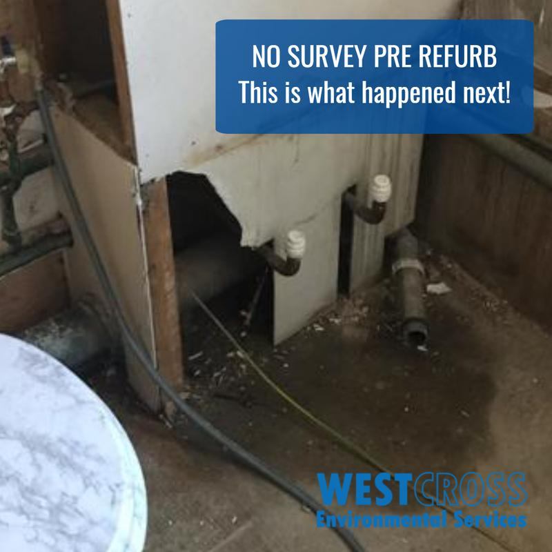 Image 3 - Another disaster that could have been avoided!We were called out only once the asbestos had been disturbed. You might have guessed from the picture that the air tests failed & all building work stopped immediately.This caused a 3 week delay to project while we cleaned the whole flat.