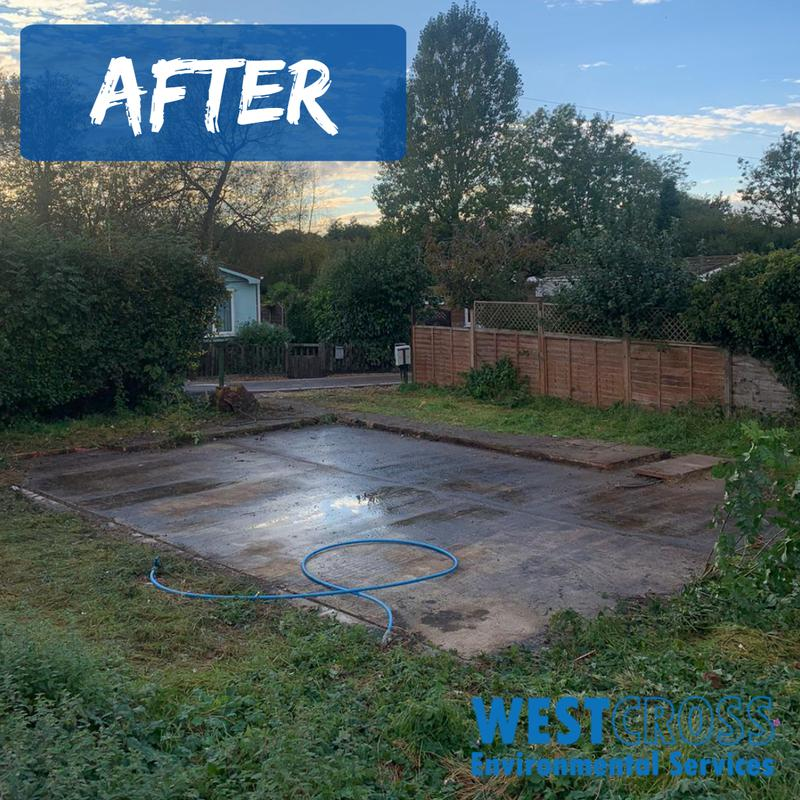 Image 6 - This property was hiding a secret inside...it was floor to ceiling of belongings accumulated over many years...the guys really had their work cut out here.Check out this plot of land now though...great result for the land owner.