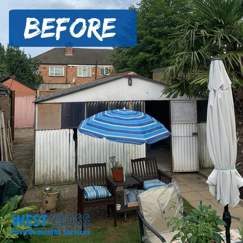 Image 7 - Full demolition & disposal of a garage for a customer!