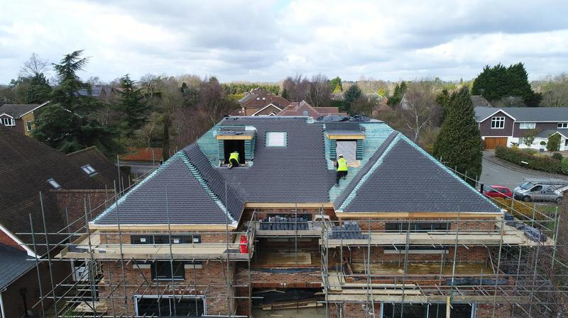 Image 99 - Tiled roof and 3 Felt Roof on a large property in Harpenden