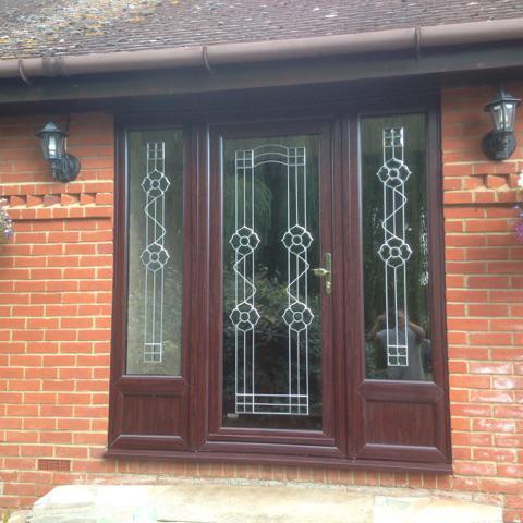 Image 31 - Rosewood UPVC Front Door
