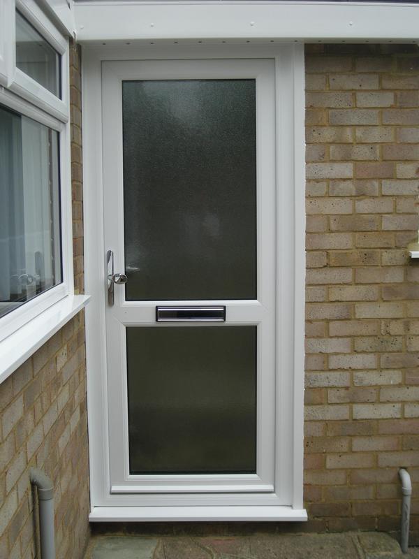 Image 32 - White UPVC Front Door