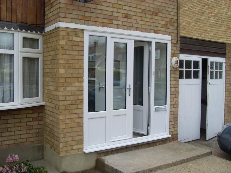 Image 30 - White UPVC Porch French Doors