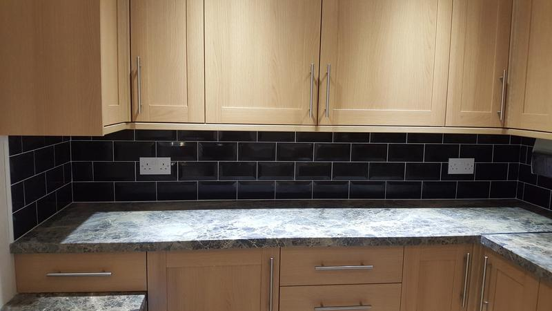 Image 7 - Utility Room cupboards & wall tiling