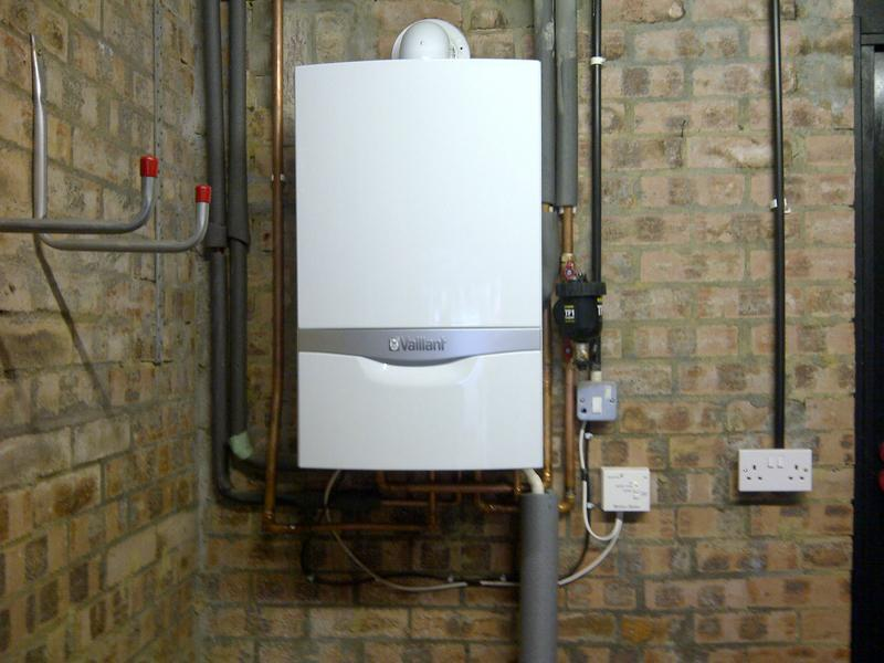 Image 7 - Installation of a Vaillant ecoTEC Plus Combination Boiler
