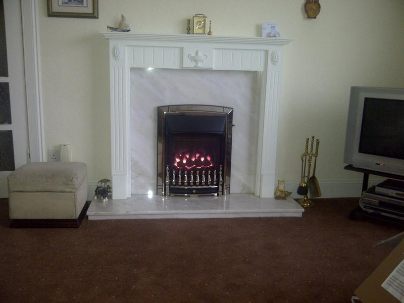 Image 2 - Installation of a Valor Dream Gas Fire