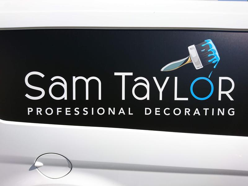 Sam Taylor Professional Decorating logo