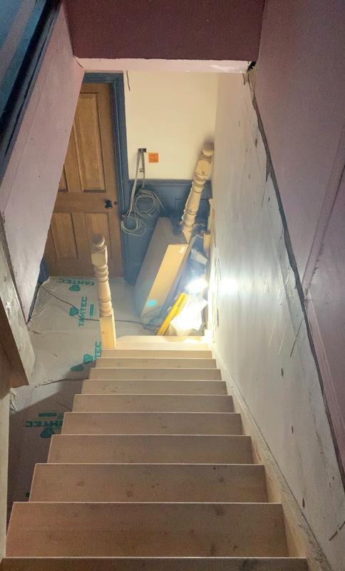 Image 1 - Loft stairway (before)