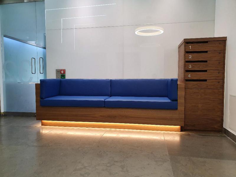 Image 30 - Walnut Bench Seat / Mailbox