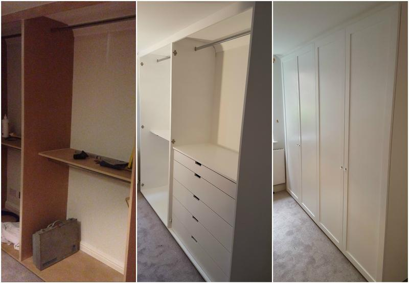 Image 120 - MDF Wardrobe painted in E14