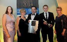 Image 14 - Collecting our Award 2014