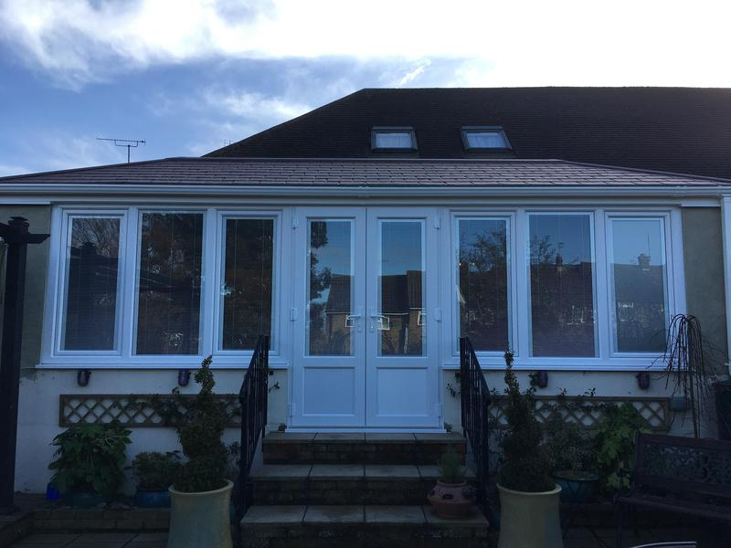 Image 73 - Westcliff-on-Sea-Conservatory Refurbishment with ultraframe