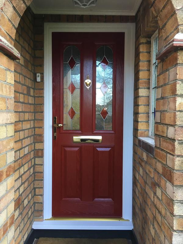 Image 83 - Westcliff-on-Sea-Red composite door