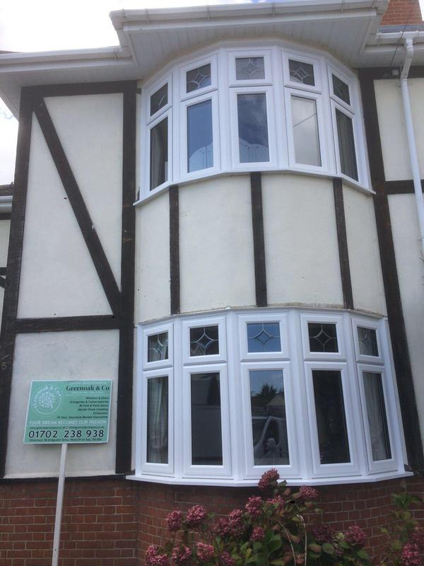 Image 31 - Westcliff-on-Sea-White bay windows