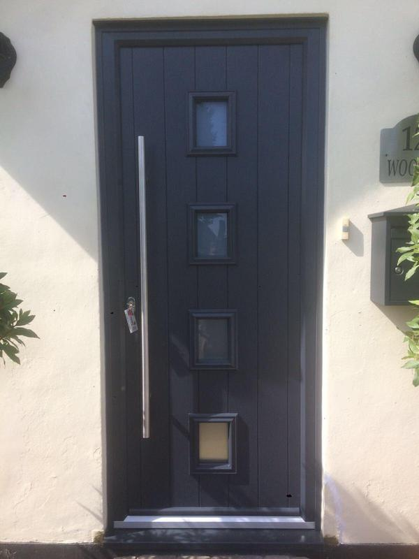 Image 80 - Westcliff-on-Sea-Grey composite door