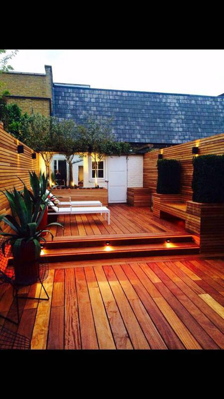 Image 53 - Hardwood decking and fencing