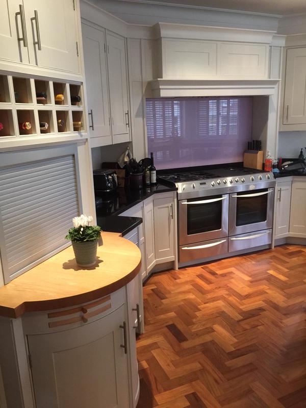 Image 34 - Repainted kitchen units.