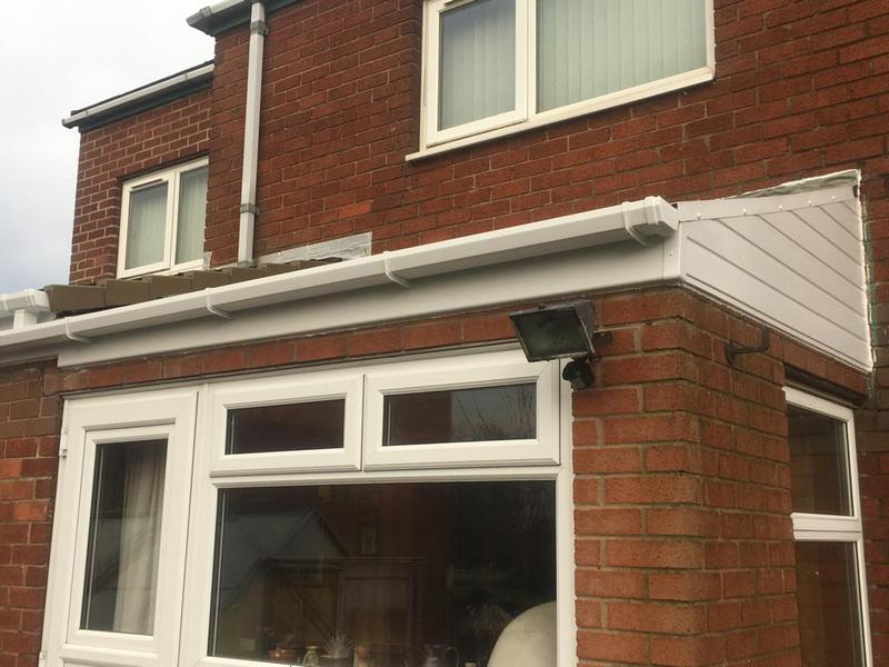 Image 2 - This is after  it has been fully  replaced in PVC soffits facias and guttering