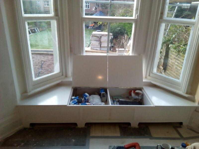 Image 18 - Bay window seat with storage