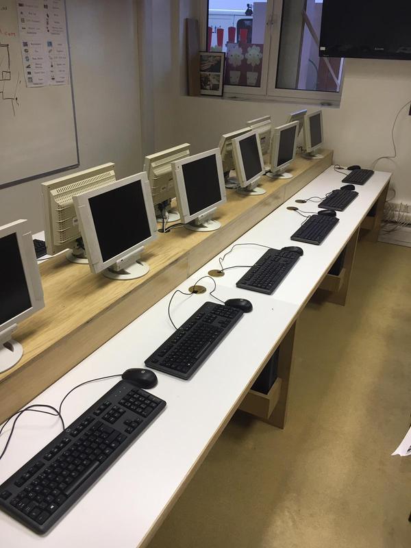 Image 17 - School computer desks