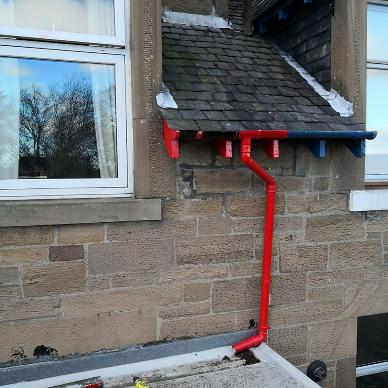 Image 30 - New guttering replacement